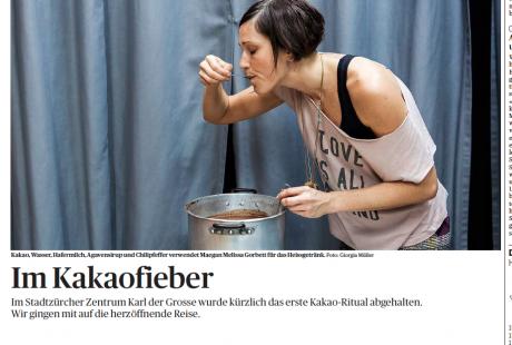 Im Kakaofieber - Reportage vom Cacaoritual mit Melissa HoneyBee (29.10.14)