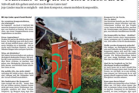 """""""Human Output ist eine Ressource"""" - Interview mit Mister Kompotoi Jojo Linder (TA, 17.11.14)"""