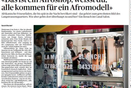 """""""Das ist ein Afroshop, weisst du"""" - Repo aus dem Afroshop an der Zinistrasse (TA, 22.10.14)"""